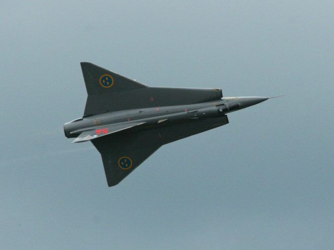 Saab JAS-35 Draken, źródło: www.wikipedia.com